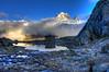 couché de soleil (kaloul) Tags: nature montagne alpes lac neige mont blanc montblanc montagnes randonée rhone sauvage rhônealpes sommets