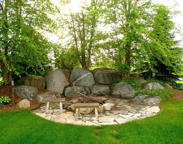 Outdoor Fireplaces Backyard Fire Pits Boulder Images Inc