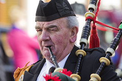 The Piper (Frank Fullard) Tags: street ireland portrait musician music irish holiday face candid pipes band patrick instrument mayo piper stpatrick celebrate castlebar complexion bandsman fullard frankfullard