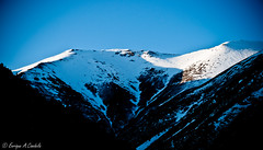 "Sunset in ""Vall de Nuria"" (hunter of moments) Tags: blue light sunset sky naturaleza mountain art luz azul clouds contraluz landscape nikon rosa natura paisaje nuria cielo nubes montaa valldenuria d5000"