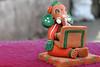 Adapt...! (Subah G) Tags: macro cute colors canon catchycolors ganesha god bokeh laptop deity pillayar canona620