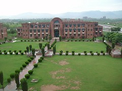 This is the Islamic international university in Islamabad, Pakistan (sheryaar2012) Tags: pakistan mountains river villages hills peshawar punjab karachi nwfp lahore sindh valleys islamabad quetta azadkashmir balouchistan northpakistan