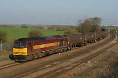 60071 28-03-12 (IanL2) Tags: trains railways dbs wellingborough class60 60071