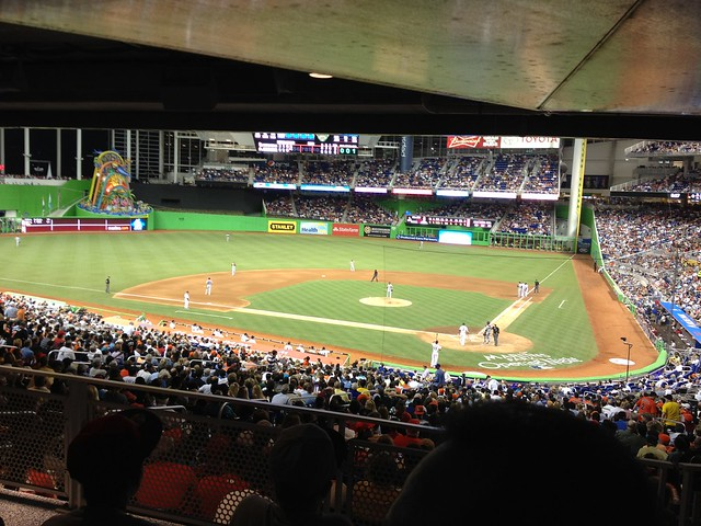 Opening Night - Marlins Park (18)