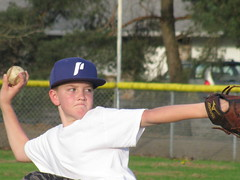 Determination (bethanysusan2012) Tags: new usa game washington amazing baseball young scout ethan talent pitcher dodgers talented 2012 littleleague minors littleleaguebaseball forscout daviddouglaspark columbialittleleague