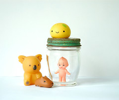 springtime! (StrawberryCuteness) Tags: march lemon antique koala kawaii jar onsen kun manju kewpie kapibarasan kawaiishopjapan