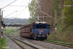 RWE Power 504 Adtranz / 33321 / 2000 / EL 2000 / Bo'Bo'-el Frechen-Benzelrath 27-04-2013 (Alex Leroy) Tags: 2000 power el 504 rwe adtranz 33321 boboel 27042013 frechenbenzelrath