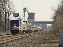 Lakeshore Limited with Heritage Unit F40PH #406 (codeeightythree) Tags: railroad 3 heritage ns norfolk indiana southern amtrak lakeshore service passenger prairie phase limited rolling