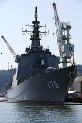 Under Maintenance (Teruhide Tomori) Tags: japan ship navy jmsdf    missiledestroyer aegiscombatsystem