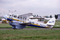 F-AZCA (Paul Thallon - Aviation Photos) Tags: lbg dehavilland 6541 lebourget parisairshow dominie dragonrapide lfpb dh89a parislebourget amicalejeanbaptistesalis fazca