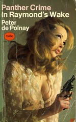 In Raymond's Wake (54mge) Tags: vintage paperback crime pistol novel cleavage panther