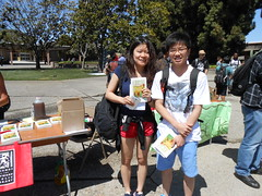 World Book Night Book Recipients @ Chabot College - April 23, 2013 - Hayward, California - 080 (Hayward Public Library) Tags: california reading libraries books literacy thelanguageofflowers cityofhayward 94541 haywardpubliclibrary vanessadiffenbaugh worldbooknight2013
