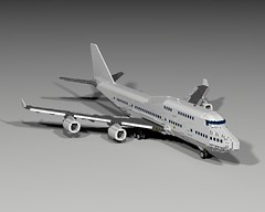 Boeing 747-400 Air France - Last Up date (The project isn't dead yet!!! :)) Tags: ontario france lego air boeing 747 747400 legoontario