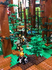 The Southern Alberta LEGO User's Groups Battle of Endor display at the 2013 Calgary Comic and Entertainment Expo. (Trevor Van Aalst) Tags: calgarycomicexpo uploaded:by=flickrmobile flickriosapp:filter=nofilter