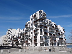 The Bow (Vilhelm Lauritzen), Copenhagen / DK, 2013 (william veerbeek) Tags: architecture copenhagen bow appartments the vilhelm lauritzen