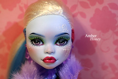 Abbey for Camila (Amber-Honey) Tags: abbey monster amber high mod doll ooak honey custom mh mattel repaint scaris bominable
