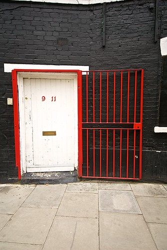 The White door and the red gate