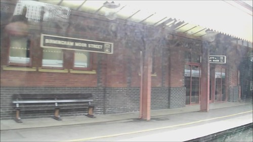 Birmingham Moor Street towards Digbeth - HD video clip