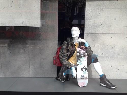 Vitrines Selfridges - Londres, mars 2014