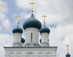 05. Paschal Prayer Service in Svyatogorsk / Пасхальный молебен в соборном храме г. Святогорска