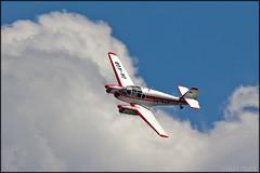 Aero Ae-45 Super (Pavel Vanka) Tags: clouds plane airplane fly flying aircraft twin airshow czechrepublic oldtimer propeller aeroclub warbird aero airfield passengerplane plasy aerotaxi okkgb lkps ae45 dayintheair ae45super