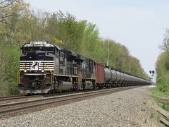 Norfolk Southern Chicago Line / MP 458 Westbound (codeeightythree) Tags: train oil prairie rolling norfolksouthern ethanol unittrain norfolksouthernrailroad rollingprairieindiana norfolksouthernchicagoline