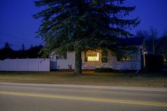 All This Time (Patrick J. McCormack) Tags: street 120 film night analog glow fuji kodak suburbs portra gw690