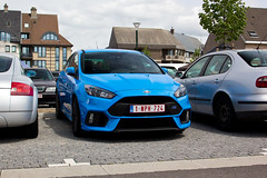 Ford Focus RS (Kristof E.) Tags: blue ford focus rs bocholt