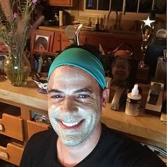 My girls giving me a mud facial, getting ready for tomorrow's J-R home seminar at 2101 @7:30pm see u there #homeseminars2101 #johnroger #JRMarathonMysticalTravelerfilm (jrintegrity924) Tags: light love israel god spirit jerusalem jesus teacher garcia spiritual msia integrity jsu johnroger