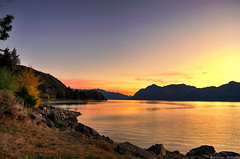 After the Goldrush (Kevin_Jeffries) Tags: life new autumn light newzealand vacation mountain holiday color reflection tourism nature water beautiful beauty composition rural wonder landscape outdoors golden living countryside interesting nikon rocks warm flickr dusk hill perspective scenic lifestyle naturallight wideangle adventure romantic idyllic heavenly warmlight waterscape 18mm lakehawea d90 colortone flickrtoday flickrsbest kevinjeffries