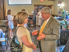 Cullman Chamber Presents Tourism Community Improvement Awards (cullmantoday) Tags: county tourism community commerce alabama area chamber improvement cullman