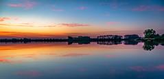 51st parallel north (Ingeborg Ruyken) Tags: morning reflection water sunrise dawn spring flickr may symmetry mei lente dropbox ochtend weerspiegeling reflectie 2016 symmetrie empel zonsopkomst natuurfotografie koornwaard maximakanaal empelfilmpje 500pxs lentefilm16