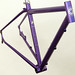 Gunnar Fastlane Custom in Starlight Purple with DI2 Routing - Front View