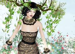GLITTER - Majestic (Rehana MiSS SLVietnam, Face of CHOP ZUEY 2015) Tags: love fashion glitter secondlife pritty laboheme rehana penumbra slink chopzuey rehanaseljan
