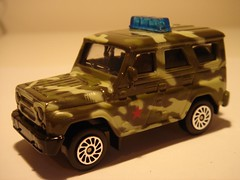 ETI/TECHNOPARK UAZ HUNTER ARMY VEHICLE 1/64 (ambassador84 OVER 5 MILLION VIEWS. :-)) Tags: eti diecast technopark uazhunter