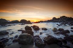 Port Mac Sunrise 2016 (rothwell.kathy) Tags: autumn seascape sunrise canon landscape australia nsw portmacquarie lightroom 6d dlsr tackingpointbeach