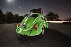 1968 Vw Beetle ([Nocturne]) Tags: lightpainting green vw bug volkswagen beetle scene 1600 1968 nocturne dubs roofrack veedub lowlightphotography lpp longexposurephotography empt twincarbs noctography canon5dmkii lpwa lightpaintingphotography lpuk lightpaintingworldalliance
