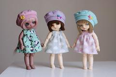 Lovi, Lyra & Veil. (icantdance) Tags: rose veil dress lyra belle beret choco bayer puki lovi lati icantdance latiwhite