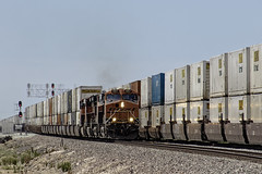 Super Highway (lennycarl08) Tags: california railroad trains bnsf centralvalley burlingtonnorthernsantafe burlingtonnorthernsantaferailroad stocktonsub