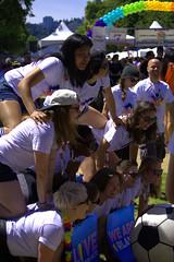 Stacked Up (swong95765) Tags: fun team women pyramid group human balance backs females kneeling balancing physical