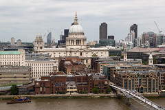St. Paul's from Switch House (Mikepaws) Tags: city uk greatbritain bridge england urban building london church skyline architecture landscape europe cityscape cathedral unitedkingdom britain capital towers landmark panoramic southbank dome historical christopherwren stpaulscathedral viewpoint riverthames citycentre cityoflondon centrallondon squaremile greaterlondon