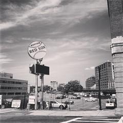 (daffodilly) Tags: bw boston fenway instagram