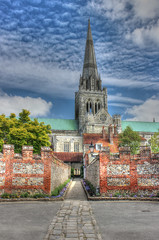 Chichester Cathedral (clivea2z) Tags: greatbritain england sussex westsussex unitedkingdom spire chichester cofe gothicarchitecture churchofengland normanarchitecture