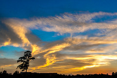 Another Texas Sunset (Woodlands Photog) Tags: sunset sky clouds big woodlands texas houston the