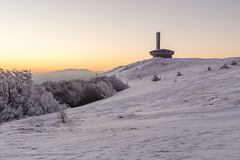 Buzludzha monument (Julien Cornette) Tags: winter hiver ufo communism bulgarie congrs buzludzha bouzloudja