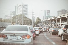 มีความพีค กับการจราจรวันนี้ #traffic #trafficjam #stuck #Bangkok #Bkk #Monday #Mondayevening #peak