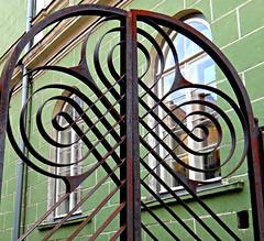 Estonian Gate (Colorado Sands) Tags: fence gate europe tallinn estonia european wroughtiron estonian hanseatic northerneurope hff balticstate sandraleidholdt harjucounty