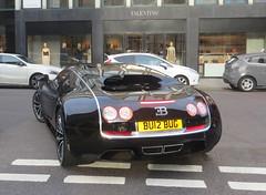"Bugatti Veyron Super Sport ""Sang Noir"" (p3cks57) Tags: london cars sport st super bugatti supercars veyron sloane knightbridge hypercars sangnoir"