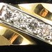 J12. Gold and Diamond Band