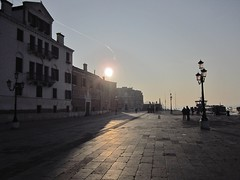 Early morning in Venice (VLBPhotography) Tags: venice italy sunrise boats earlymorning laguna castello